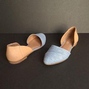 TOMS Women's Jutti D'Orsay Flats Shoes Size 11